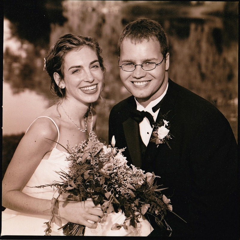 image of a couple of their wedding day