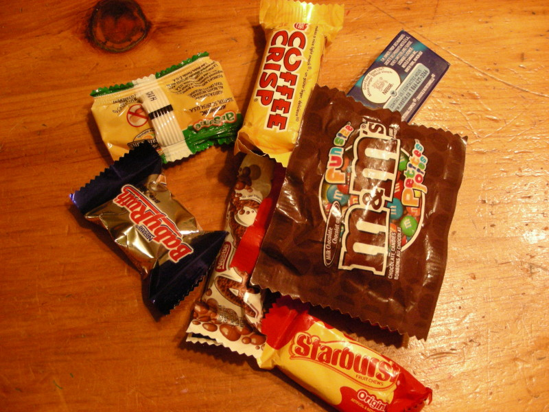 Image of packaged candy