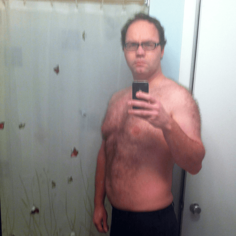 Spornosexual after photo
