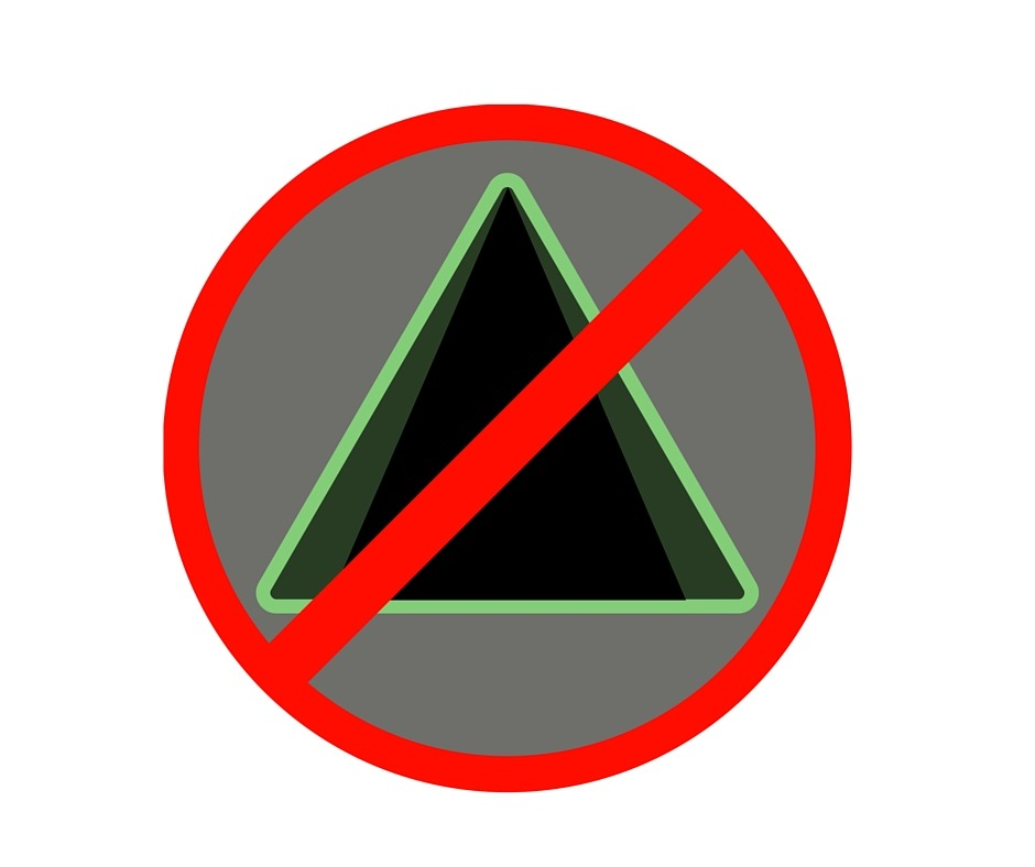 Image of a no camping badge