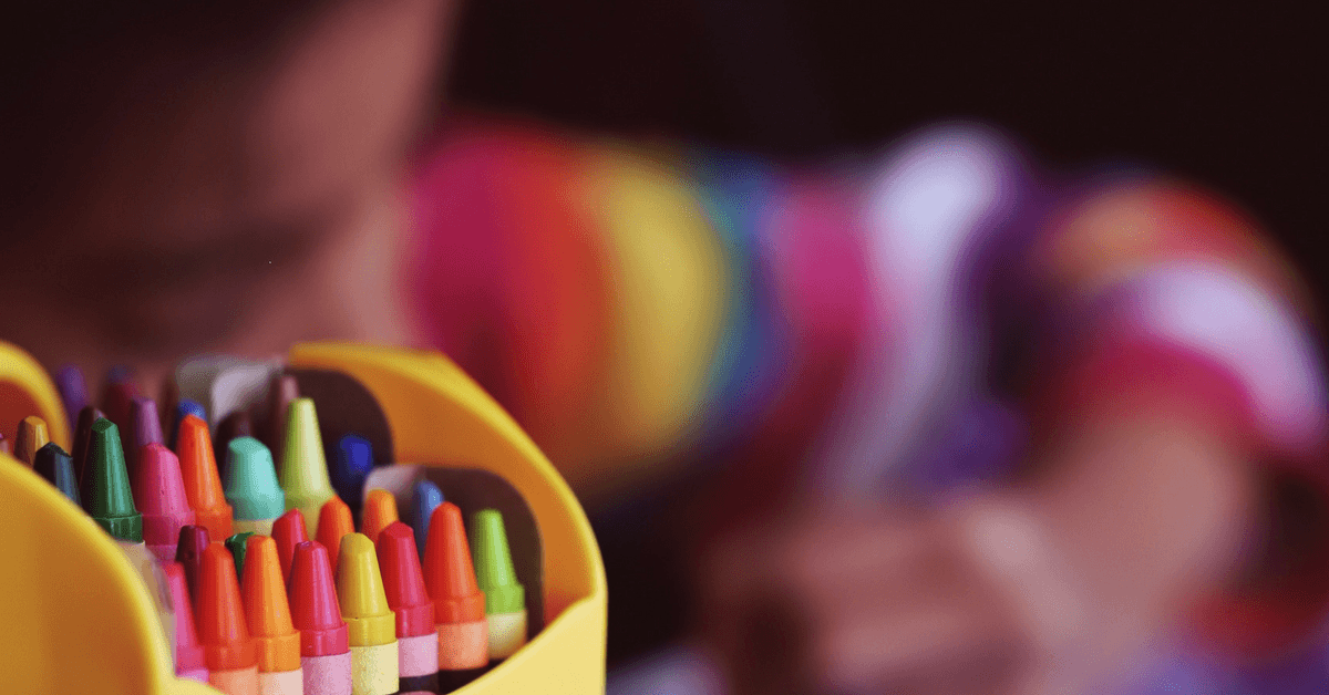 Image of crayons - Back to school