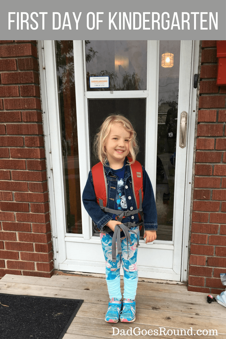 The first day of school is full of promise for the future.